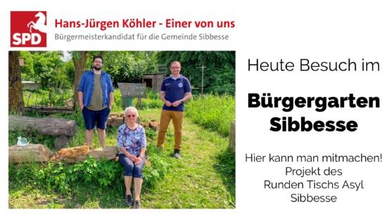 Besuch im Bürgergarten Sibbesse